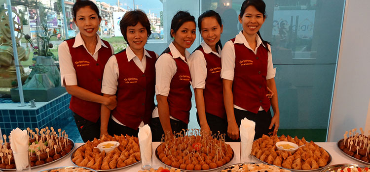 Party Food - Catering for all events in Pattaya